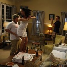 A Good Old Fashioned Orgy: Jason Sudeikis e Tyler Labine in una scena