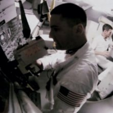 Apollo 18: Warren Christie e Lloyd Owen in una scena
