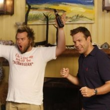 Jason Sudeikis e Tyler Labine in A Good Old Fashioned Orgy