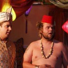 Jason Sudeikis e Tyler Labine nella commedia A Good Old Fashioned Orgy