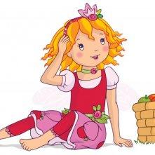 Una immagine promozionale del cartoon Prinzessin Lillifee und das kleine einhorn