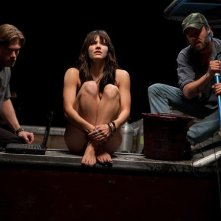 Chris Carmack, Katharine McPhee  e Joshua Leonard in Shark Night 3D