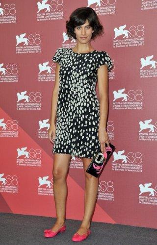 Giulia Bevilacqua a Venezia 2011 per presentare il corto Alice e L'arrivo di Wang