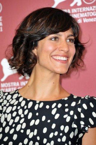 Giulia Bevilacqua a Venezia nel 2011 per presentare il corto Alice e L'arrivo di Wang