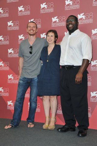 Mostra di Venezia 2011:Michael Fassbender presenta Shame con Steve McQueen e Abi Morgan