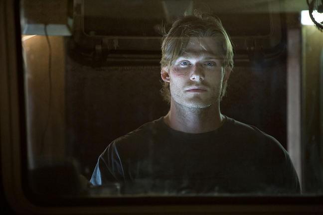 Shark Night 3D Chris Carmack In Una Scena Del Film 213378