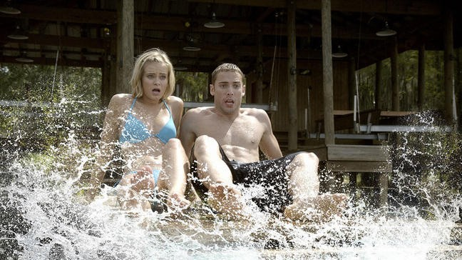 Shark Night 3D Dustin Milligan E Sara Paxton In Una Scena Del Film 213375