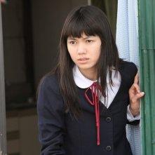 Fumi Nikaidou è Keiko Chazawa, la compagna di classe innamorata del protagonista Sumida in Himizu