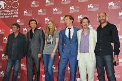 Gary Oldman, Colin Firth e Benedict Cumberbatch a Venezia con La talpa