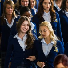 The Moth Diaries: Lily Cole, Sarah Bolger e Sarah Gadon in una scena