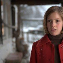 Claudia Vega in una scena del film Eva