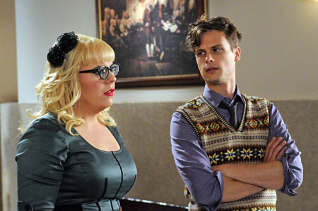 Criminal Minds Kirsten Vangsness E Matthew Gray Gubler Nell Episodio It Takes A Village 213696