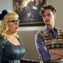 Criminal Minds: Kirsten Vangsness e Matthew Gray Gubler nell'episodio It Takes A Village