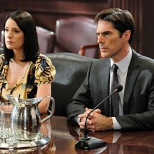 Criminal Minds: Paget Brewster e Thomas Gibson nell'episodio It Takes A Village