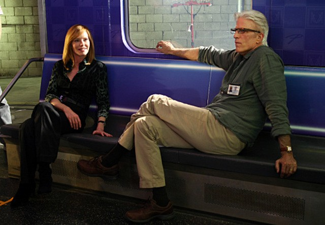 Csi Marg Helgenberger E Ted Danson Nell Episodio 73 Seconds 213726