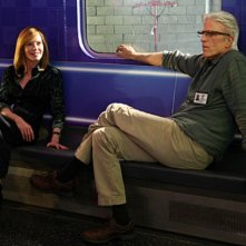 CSI: Marg Helgenberger e Ted Danson nell'episodio 73 Seconds