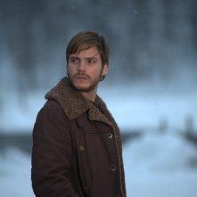 Daniel Brühl in una scena del film Eva (2011)