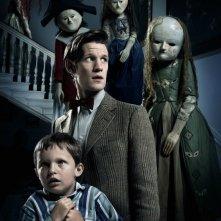 Doctor Who: Matt Smith in un'immagine tratta dall'episodio Night Terrors