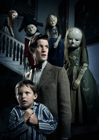 Doctor Who: Matt Smith in un'immagine tratta dall'episodio Night Terrors
