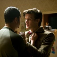 Doctor Who: Matt Smith in una scena dell'episodio Night Terrors