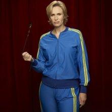 Glee: Jane Lynch in una foto promozionale della stagione 3