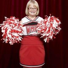 Glee: Lauren Potter in una foto promozionale della stagione 3