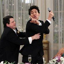 How I Met Your Mother: Chris Romanski e Josh Radnor in una scena dell'episodio The Best Man