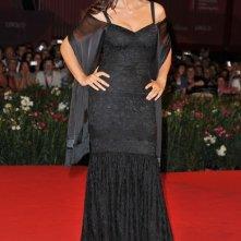 Monica Bellucci sul red carpet della premiere di Un Ete Brulant alla Mostra di Venezia 2011