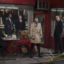 Prime Suspect: una foto promozionale del cast della serie