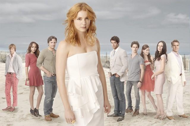 Revenge: una foto promozionale del cast della serie