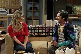 The Big Bang Theory: Kunal Nayyar e Kaley Cuoco nell'episodio The Skank Reflex Analysis