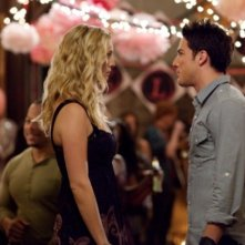 The Vampire Diaries: Candice Accola e Michael Trevino nell'episodio The Birthday