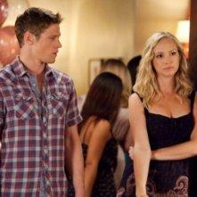 The Vampire Diaries: Candice Accola e Zach Roerig nell'episodio The Birthday