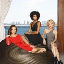 Charlie's Angels: Minka Kelly, Annie Ilonzeh e Rachael Taylor in una foto promozionale del remake