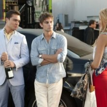 Gossip Girl: Ed Westwick, Chace Crawford e Blake Lively nell'episodio Yes, Then Zero