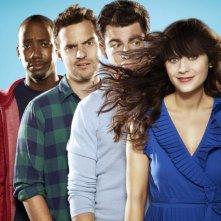 New Girl: una foto promozionale del cast