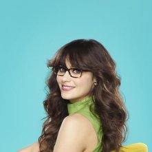 Zooey Deschanel nella serie New Girl