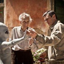 L'ultimo terrestre: Roberto Herlitzka, Gabriele Spinelli e un alieno