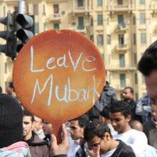 'Mubarak, Lascia' - un'immagine emblematica in Tahrir 2011