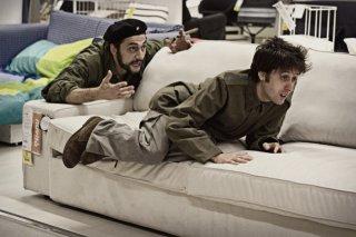 Filippo Timi e Francesco Brandi in Missione di pace