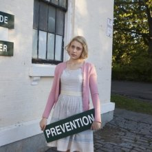 Greta Gerwig in una scena di Damsels in Distress