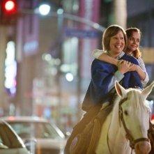 Christina Ricci con Nick Swardson in una romantica scena di Bucky Larson: Born to be a Star
