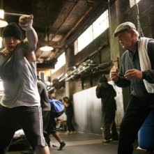 Nick Nolte e Tom Hardy in Warrior