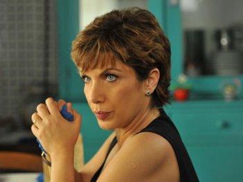 Rosanna Banfi in una scena de Il Commissario Zagaria