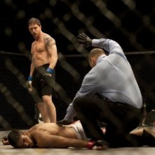 Tom Hardy sul ring in Warrior