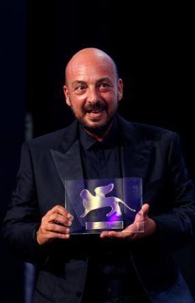 Venezia 2011: Emanuele Crialese, regista di Terraferma, con il Premio della Giuria
