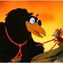 Brisby e il segreto di NIMH: una sequenza del film d'animazione