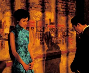 Maggie Cheung e Tony Leung nel film In the Mood for Love