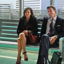 The Defenders: Jerry O'Connell e Lana Parrilla in una scena dell'episodio Las Vegas v. Johnson