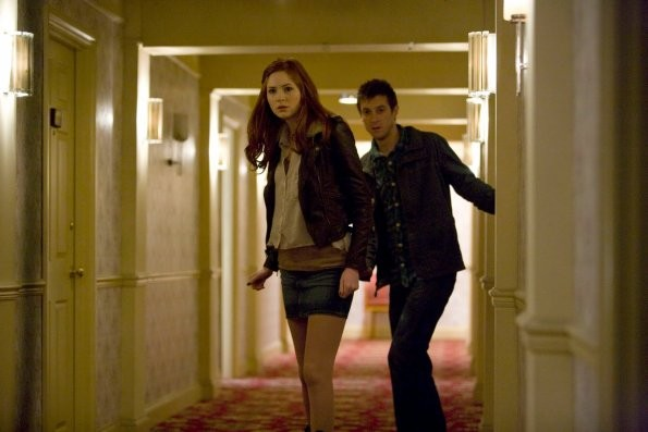 Doctor Who Karen Gillan Ed Arthur Darvill Dell Episodio The God Coplex 214557